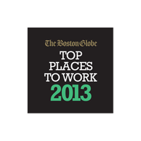 Boston Globe's Top Places to Work, 2013
