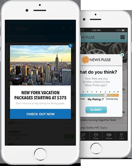Improve your app engagement with Localytics in-app messaging.