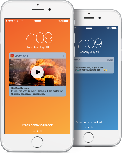 Send more effective rich push notifications with Localytics.