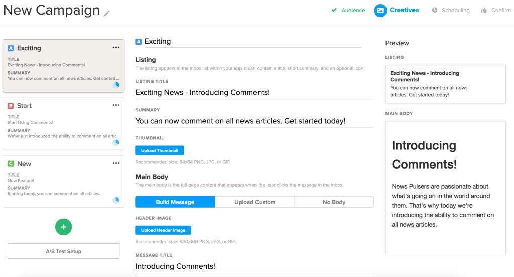Inbox Editor