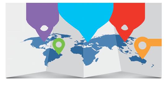 Geolocations Around the World