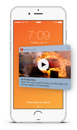iOS Rich Push Notification with Video